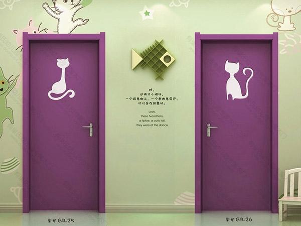 浙江幼儿园教室木门
